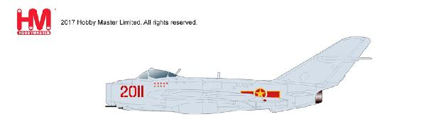 "MIG-17F (Shenyang J-5) - NEW TOOLING!, 2011, 923 IAP ""Yen The"" North Vietnamese Air Force (1:72) - Preorder item, order now for future"