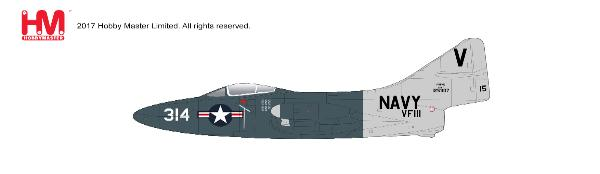 F9F-5 Panther, VF-111, USS Lake Champlain, July 1953 (1:48) - Preorder item, order now for future delivery