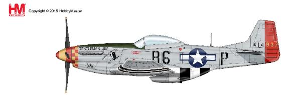 "P-51D Mustang, ""Gentleman Jim"", 363rd FS, 357th FG, 1944 (1:48)"