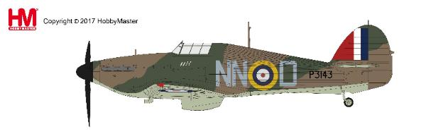 Hawker Hurricane Mk.I, Sgt. B. Furst, 310 Sqn., Duxford, Sept 1940 (1:48) - Preorder item, order now for future delivery