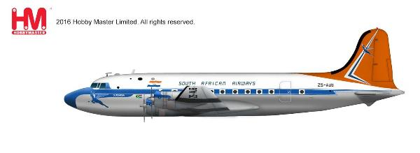 South African Airways Douglas DC-4 (1:200) - Preorder item, order now for future delivery
