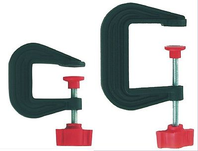 Large & Small Plastic C-Clamps