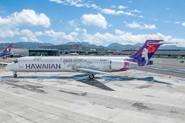 Hawaiian Airlines B717-200 New Livery N488HA (1:200)