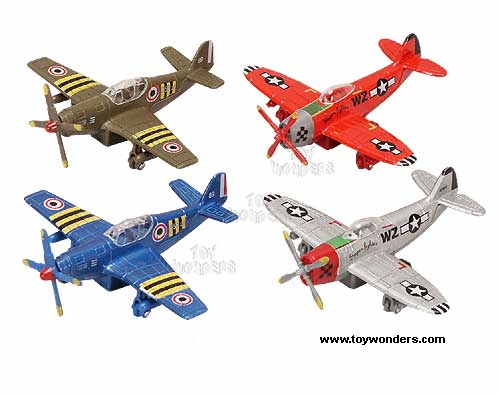 "Vintage Aircraft (4.75"", Assorted Colors.)"