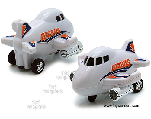 "Airbus Pullback Toy (5"", Assorted Colors.)"