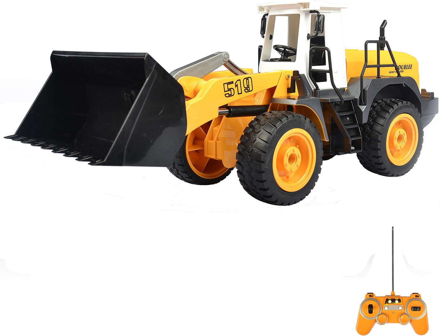 Radio Control Front End Bucket Loader (1:20 Scale) 27Mhz