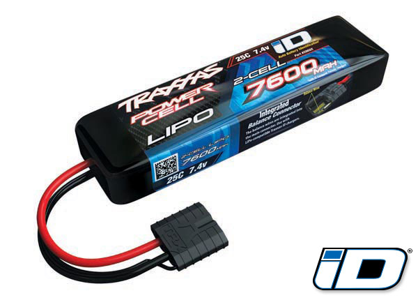 Lipo Battery 7600mah 7.4v 2cel