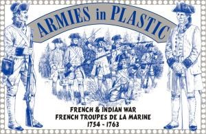 French & Indian War - French Troupes De La Marine 1754 - 1763