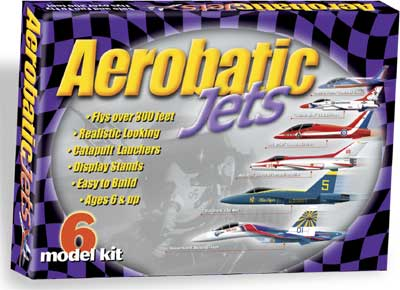 Aerobatic Jet Gliders - 6 Pack
