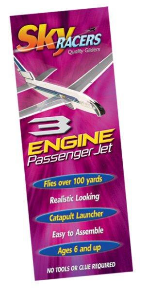 3 engine Passenger Jet with catapult