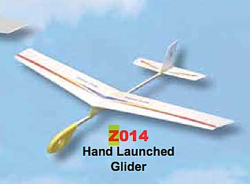 Night Hawk Hand Launched Glider