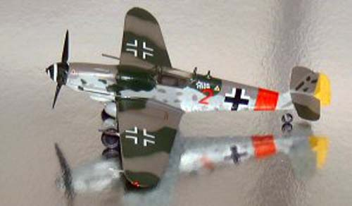 Bf-109G-10 Jg300 Germany (1:72)