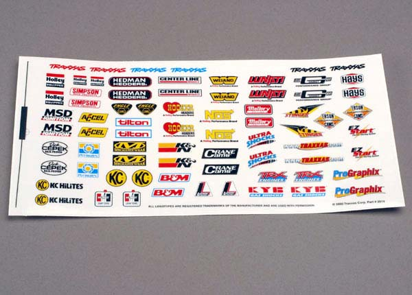 Decal Sheet Sponsor