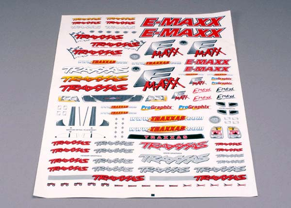 Decal Sheet E-Maxx