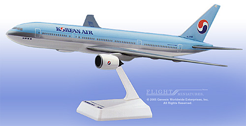 Korean Air 777-200 (1:200)