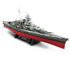 German Battleship Tirpitz - Norway, 1944 (1:700)