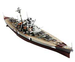 German Battleship Bismarck - Poland, 1941 (1:1000)