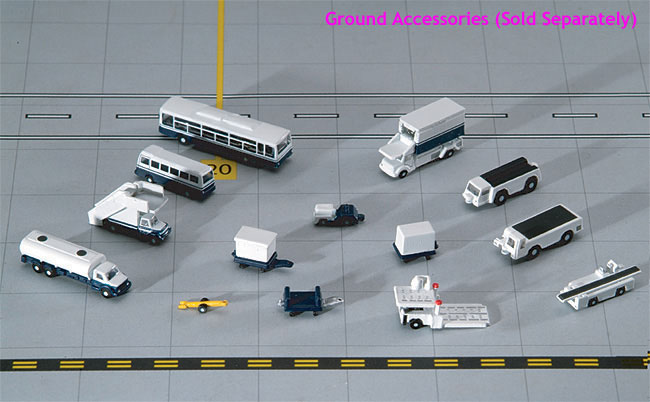 Airport 14 Piece Accessory Set (1:400)