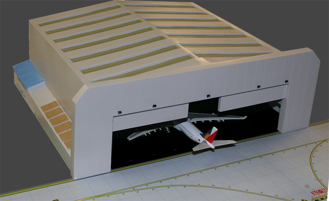 Widebody Aircraft Hangar (1:400)