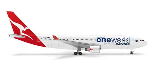 "Qantas A330-200 ""One World Livery"" (1:500)"