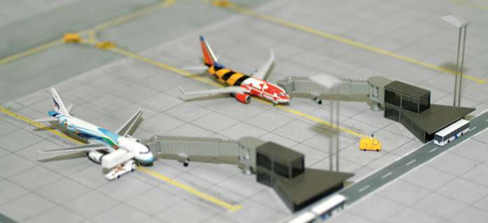 Apron Boarding Station (1:500)