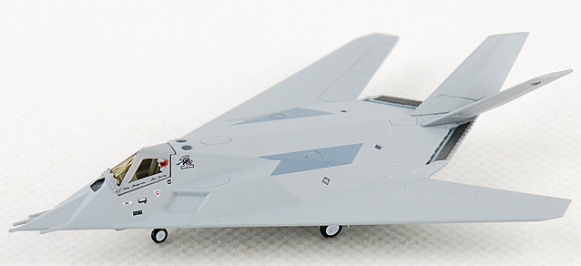 F-117A USAF Groom Lake Nevada 1981 (1:200)