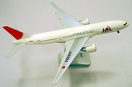 JAL B777-200 (New Colors) (1:200)