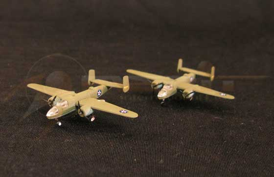 U.S. B-25 Bombers - 6 piece set (1:350)