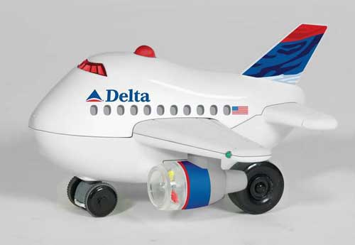 Delta Bump & Go AIRPLANE-NEW Livery