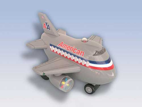 American Airlines Bump & Go Airplane
