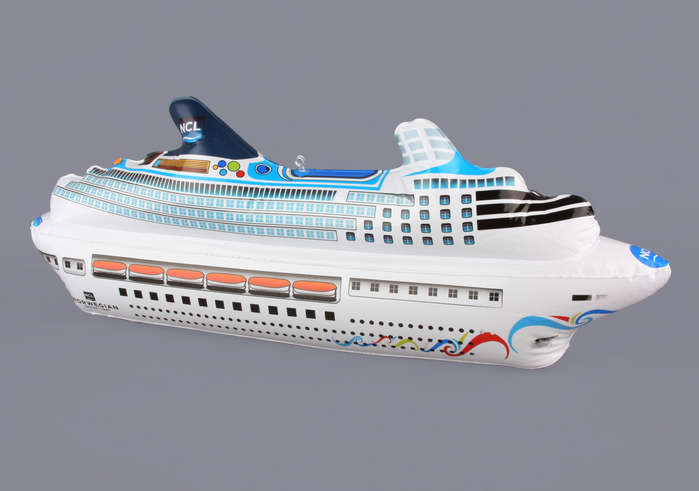 Norwegian Cruise Line Inflatible Ship