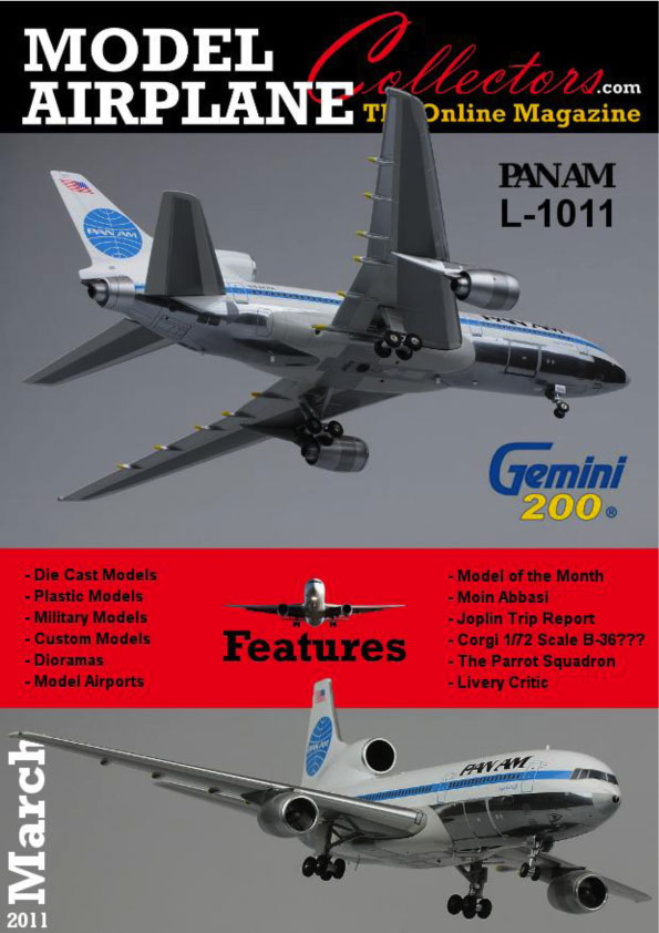 Model Airplane Collector's Magazine, March 2011 (Free Download)