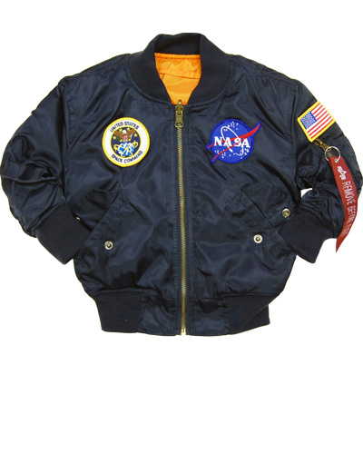 Youth MA-1 Jacket - NASA