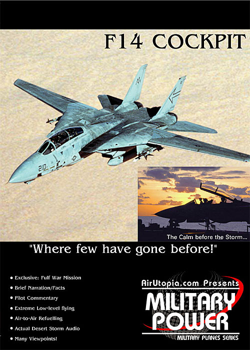 Gulf War Mission - F14 Cockpit (DVD)
