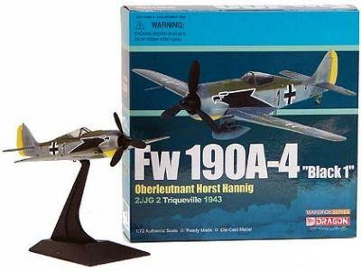 FW-190A-5 'Black 13' JG26, June 1943 - Major Priller (1:72)