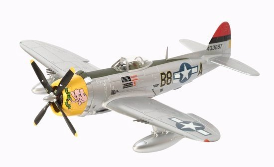 "P-47D Thunderbolt, 362nd FG, B8-A ""Five by Five"" (1:72)"