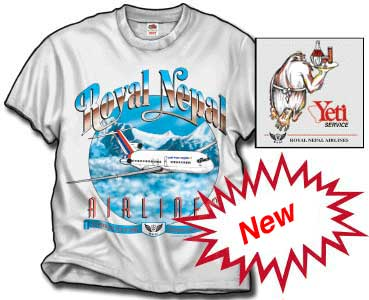 Royal Nepal 727-100 T-Shirt