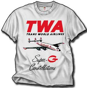 TWA Super G Connie T-Shirt