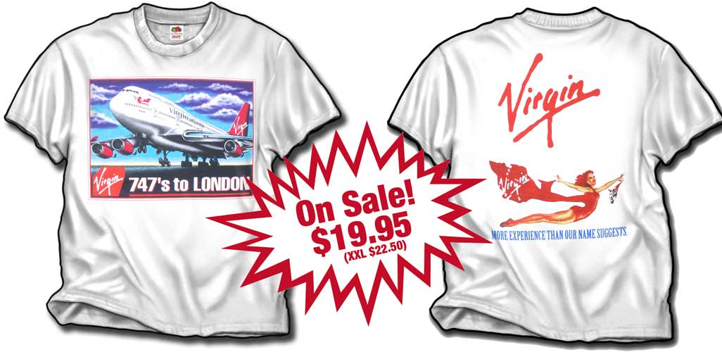 Virgin Atlantic 747-400 T-Shirt