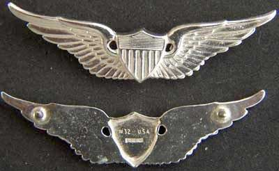 US Army Pilot Sterling Wings Army pilot, army pilot wings, army pilot sterling wings, US Army Pilot, silver wings, basic wings, sterling wings