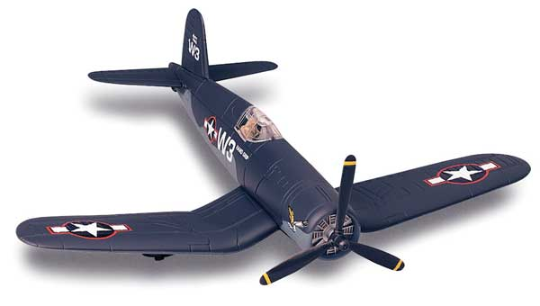 F4U Corsair Model Plane Kit (1:72) Easy Build
