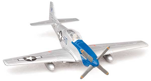 P-51 Mustang Model Airplane Kit (1:72) Easy Build