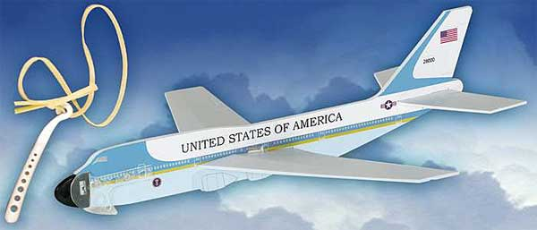 Air Force One Aircraft Glider W/Launcher