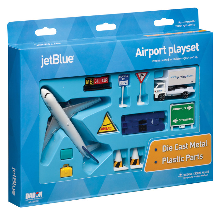 JetBlue Airport 14 Piece Play Set