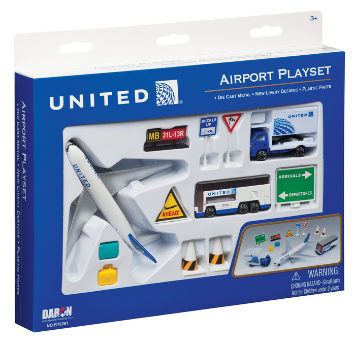 United 12 Piece Playset