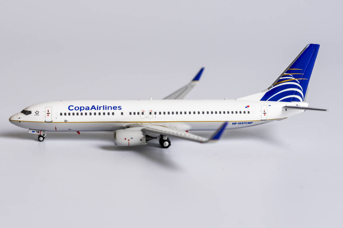 Copa Airlines 737-800/w HP-1537CMP (1:400)