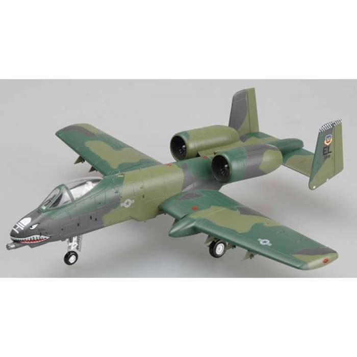 A-10a Warthog 23rd Tfw (1:72), EasyModel Aircraft Models Item Number EM37110