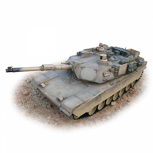 R/C M1A2 Abrams Tank (1:16 Scale) 2.4ghz Premium Series, Hobby Engine Radio Control Item Number HOB717