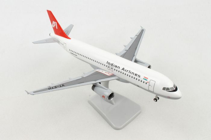 Indian Airlines A320 REG#VT-EYH (1:200) by Hogan Wings Collectible Airliner Models item number: HG11083G