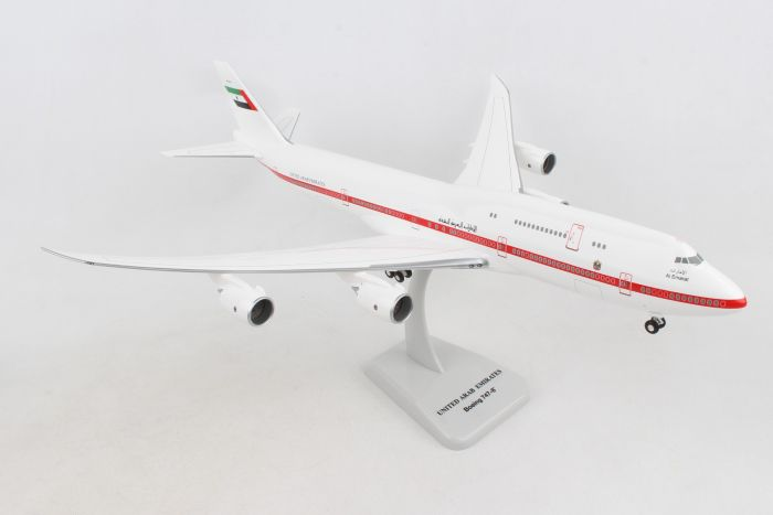 United Arab Emirates 747-8 With GEAR REG#A6-PFA (1:200) by Hogan Wings Collectible Airliner Models item number: HG11090G